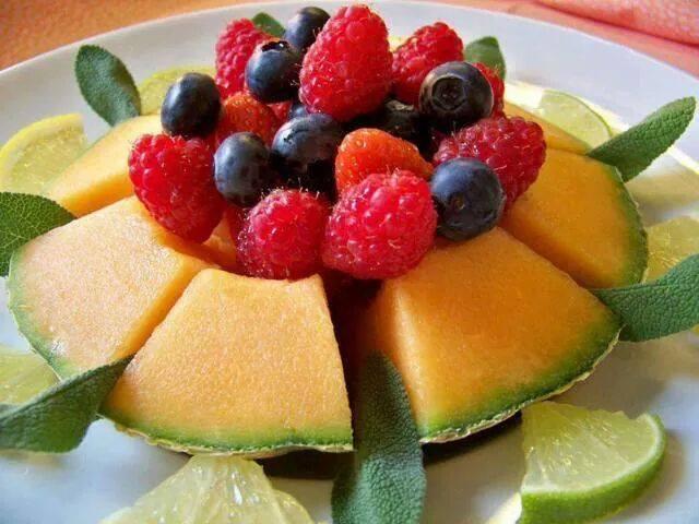 Frische HONIGmelonefüreuch